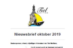 Nieuwsbrief oktober 2019